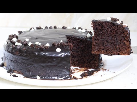 Chocolate cake in lockdown without oven maida baking powder and eggs wheat flour chocolate cake