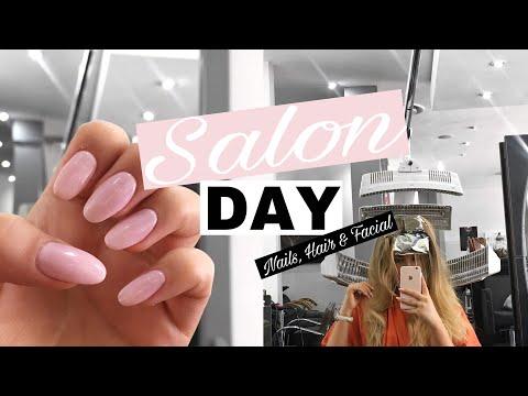 NAILS, FACIAL + BLONDER HAIR | Jessica van Heerden