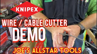 Joe's AllStar Tools: Knipex Cable Cutter Demo and Mastercool Hydraulic Flaring Tool