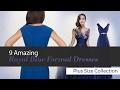 9 Amazing Royal Blue Formal Dresses Plus Size Collection