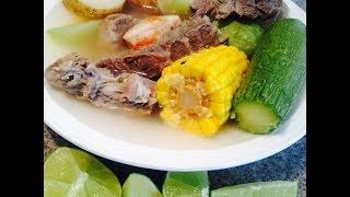 Caldo De Res / Beef Stew (how To)