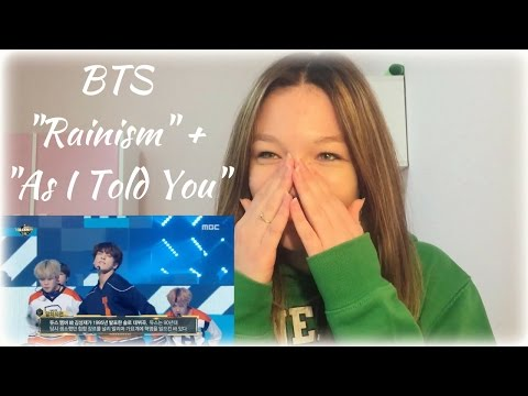 "[ITA] BTS ""RAINISM + As I Told You"" REACTION 