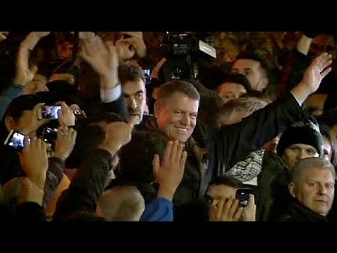 Klaus Iohannis wins Romanian presidential election - no comment
