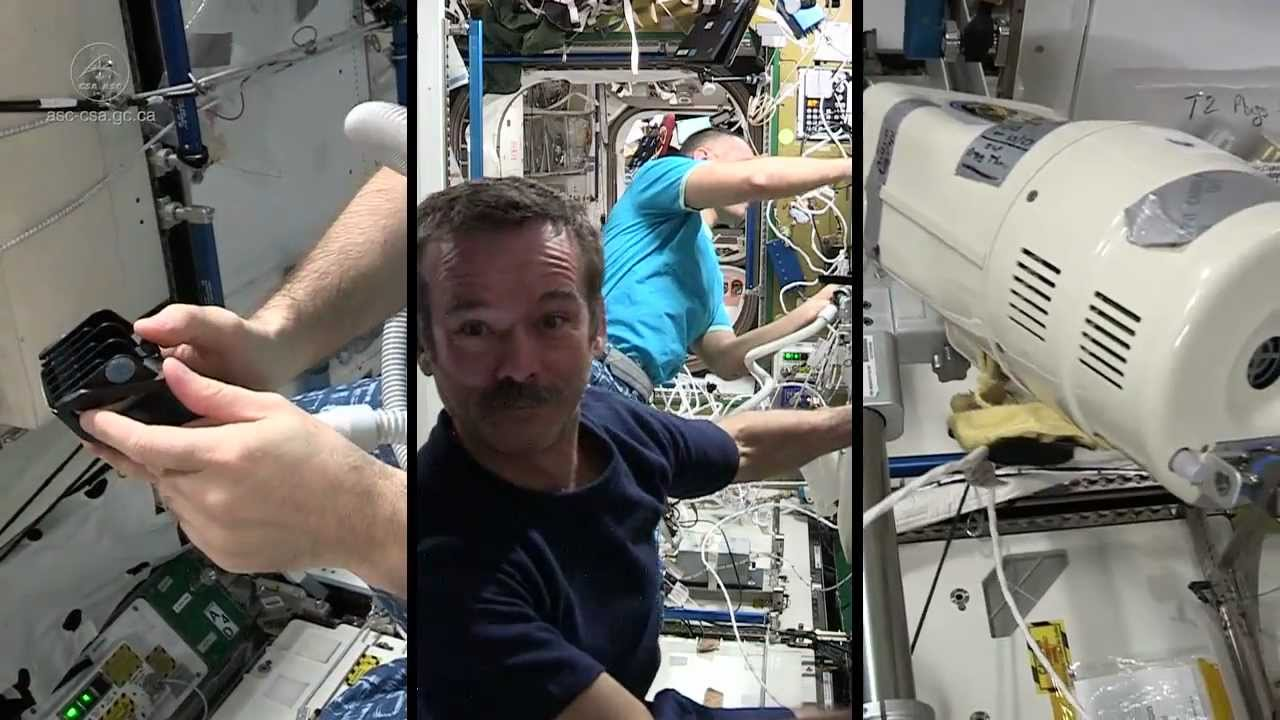 which canadian astronaut has been in space the longest - photo #37