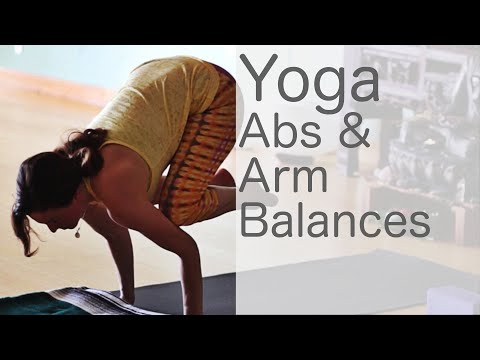 Free Yoga Class Fun with Abs and Arm Balances: Yoga With Fightmaster Yoga