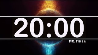 20 Minute Timer with Epic Music! Timer for Kids, Classroom, Exercise! Cool Timer for 20 Minutes!