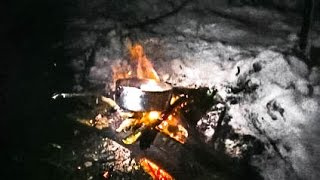 Camping during a Blizzard Part 2