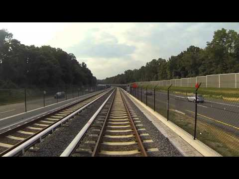 Silver Line Ride Along: Wiehle-Ballston (real time)