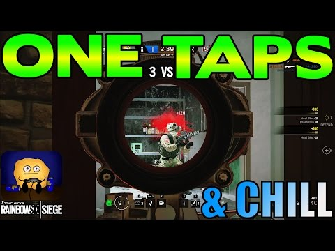 ONE TAPS & CHILL: 3 Minutes of One Taps - Rainbow Six Siege (Red Crow)