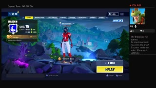 Nik BRZ Fortnite Stream (Unlocking All White Dire Skin)!!!!!