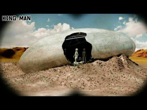 Entidad Biologica Extraterrestre (EBE) grabada cayendo en las montañas