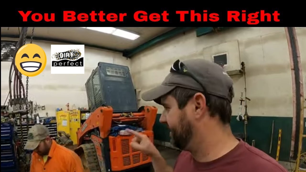 Upgrades / repairs / inspection to the shop overhead crane with man behind the scenes