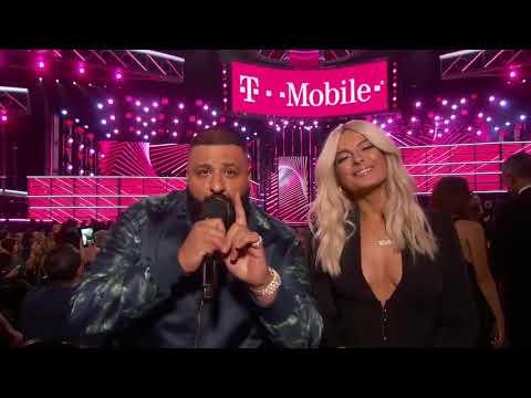 DJ Khaled And Bebe Rexha Introduce Julia Michaels - BBMA 2017