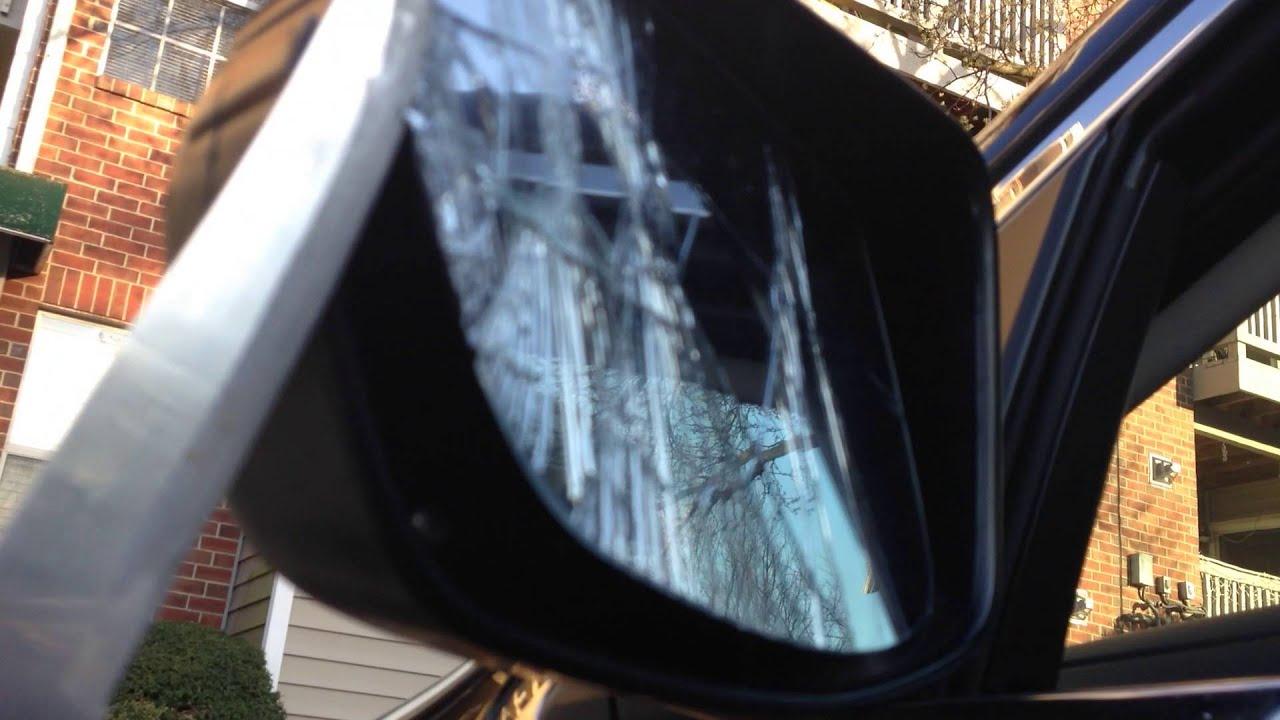 honda crv side view mirror repair youtube