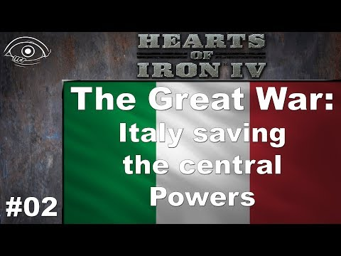 HoI4 - TGW(1910)- Italy Central Powers - 02