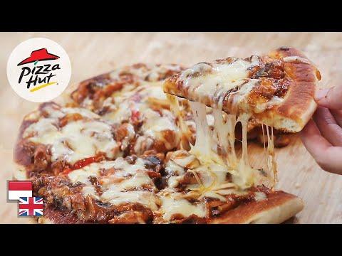 Resep Pizza Teflon Hanya 7 Menit! [tanpa Ulen, Tanpa Proofing, Garing, Empuk, Ala Pizza Hut]