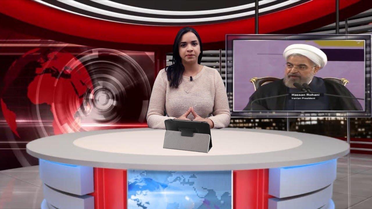 دورة التقديم التليفزيوني - نشرة الأخبار - دنيا الصفواني - المدرب الدكتور عصام الشريف