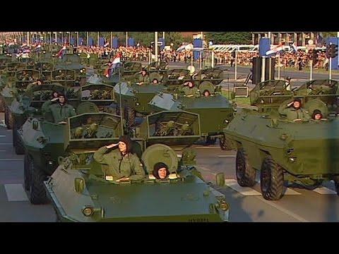 Croatia celebrates 20th anniversary of 'Operation Storm'