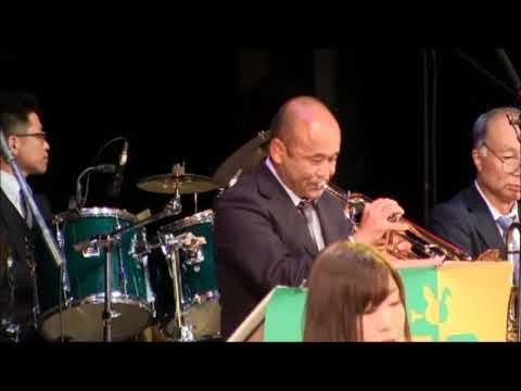 April in Paris - 3Rabbits Jazz Orchestra at ライト・ミュージック・フェスティバル イン アワ 2018