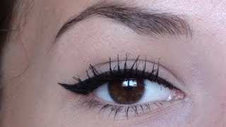 comment mettre l'eye liner