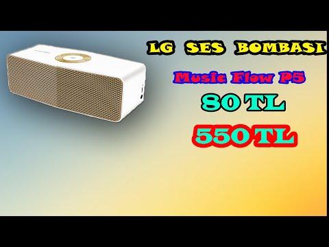 LG Music Flow P5 Bluetooth Hoparlör Ürün Tanıtımı