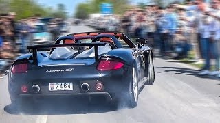 Supercars Leaving Cars & Coffee Italy LOUD! 918 Spyder ,F40 ,Aventador ,GTR & MORE!🔥