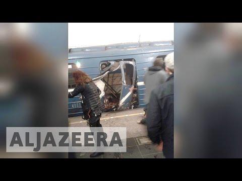 St Petersburg metro blast kills at least 11 people