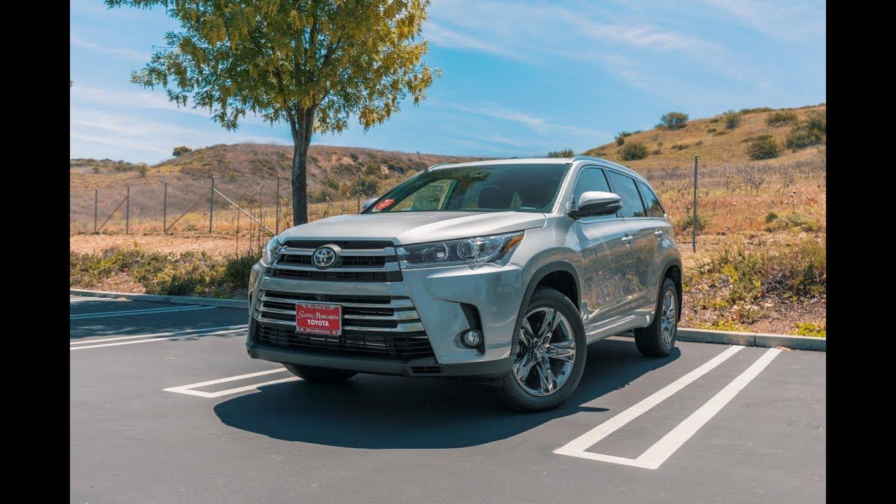 2018 Toyota Highlander Limited   Santa Margarita Toyota