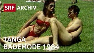 Tanga - sexy Bademode für die Badi (1984) | Retro-Mode Schweiz | SRF Archiv
