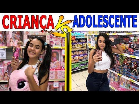 CRIANÇA VS ADOLESCENTE NA LOJA DE BRINQUEDOS - Muita Diversão !!!