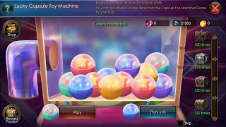 Legacy of Discord: Capsule Toy Machine 27 March 12AM Reset