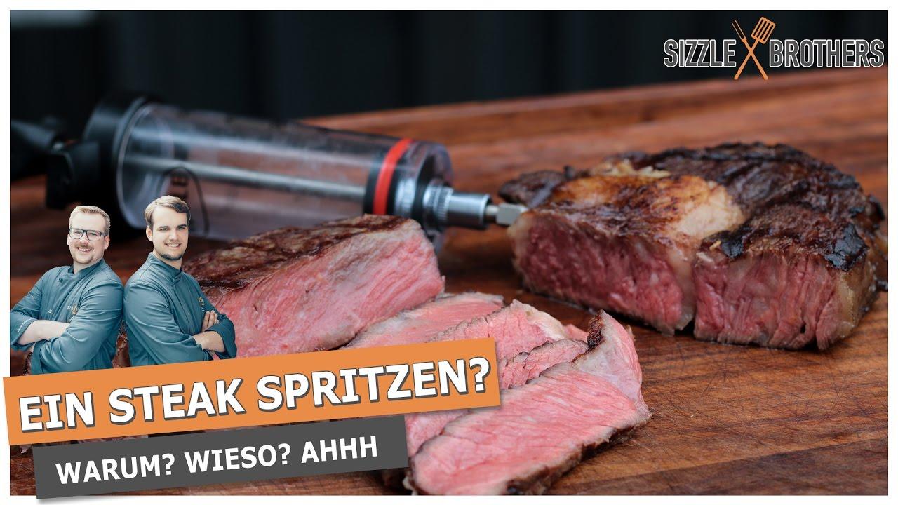 Ein Steak Spritzen Steakmythos Salz Youtube