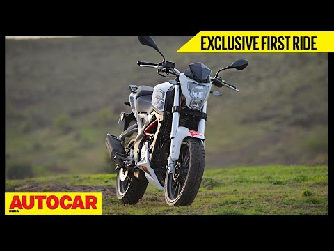 Benelli TNT 25 | Exclusive First Ride | Autocar India - YouTube