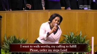 """Order My Steps"", Mass Choir"