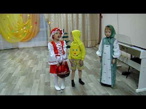 сказка Красная Шапочка и Колобок