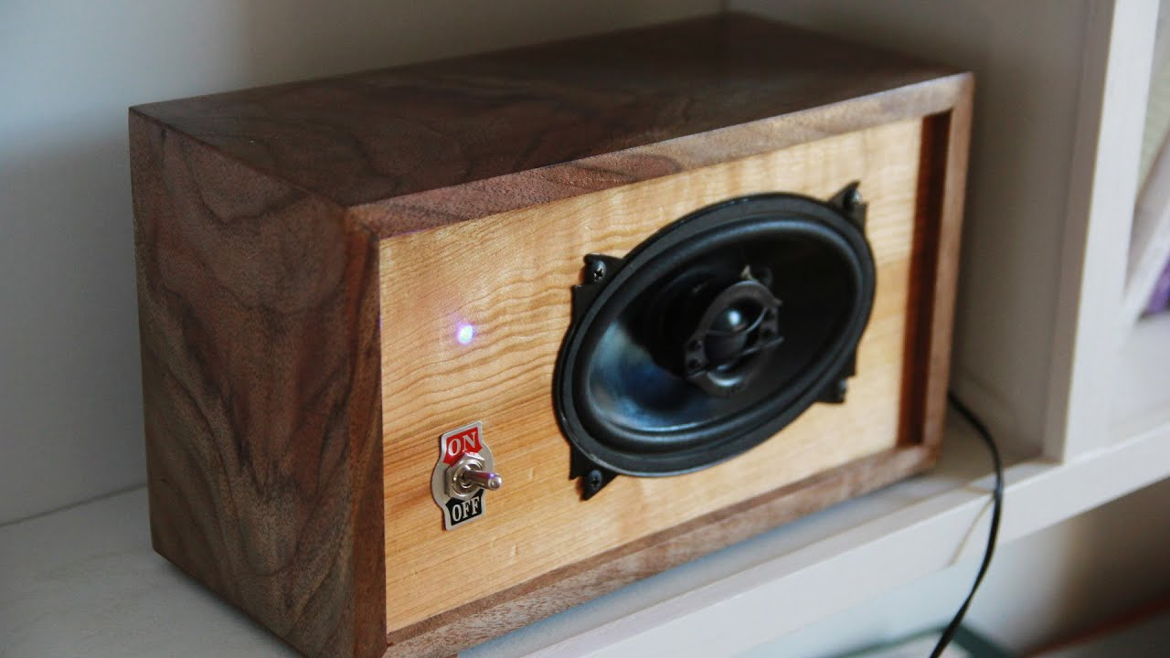 Diy Vintage Bluetooth Speaker