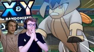 IT'S JUST OUR LUCK! (Pokemon X & Y Randomizer Soul Link • w/ GameboyLuke)