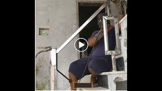 Cách người nước ngoài tự xây lan can cầu thang cực chất - DIY Stainless Steel Stair Guard