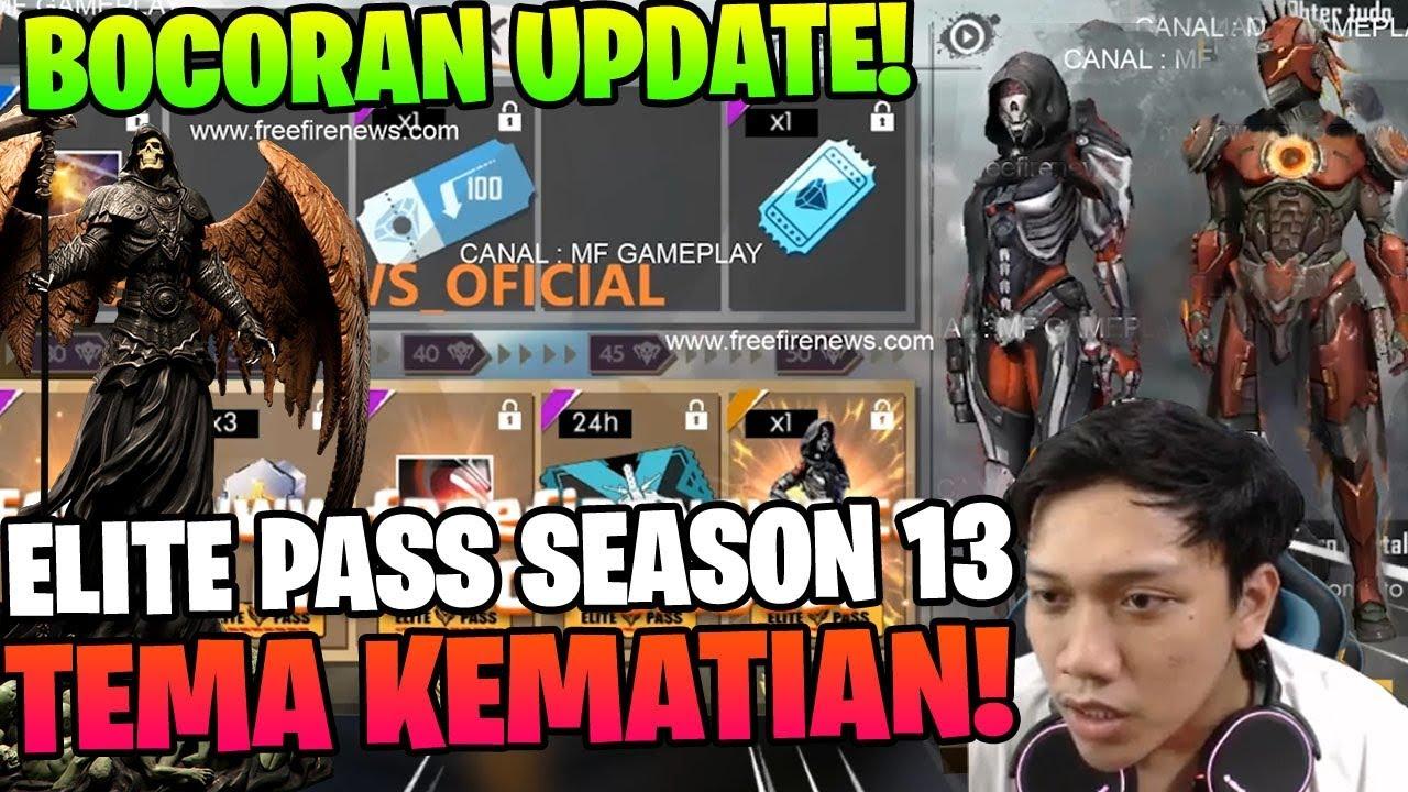 Tema Kematian Full Bocoran Elite Pass Season 13 Juni Garena Free Fire