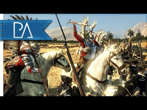 BATTLE OF THE WINGED HUSSARS - Empire Total War Gameplay