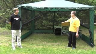 Туристический тент шатер Campack Tent G 3401W(Выезжая на природу, не забудьте взять с собой туристический тент шатер Campack Tent G 3401W Модификация с индексом..., 2014-05-21T05:36:28.000Z)