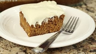 Luscious Carrot Cake - It's Gluten Free Lower In Fat - Bet You Can't Tell.