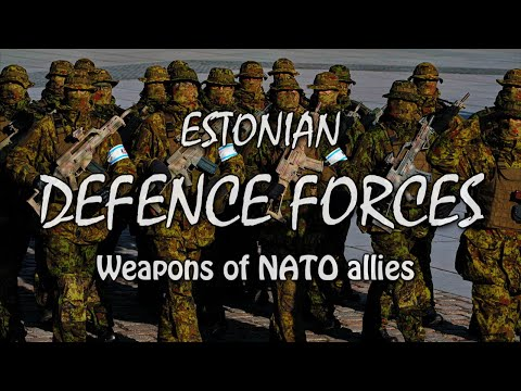 Estonian Defence Forces and NATO Allies | Display of Military Equipment and Weapons | Tallinn
