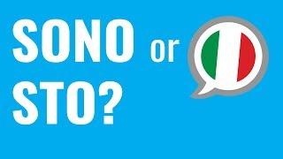 Ask an Italian Teacher - Sono or Sto?