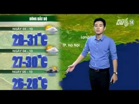 Dự báo thời tiết 3-10: Tin bão trên biển đông - cơn bão số 4
