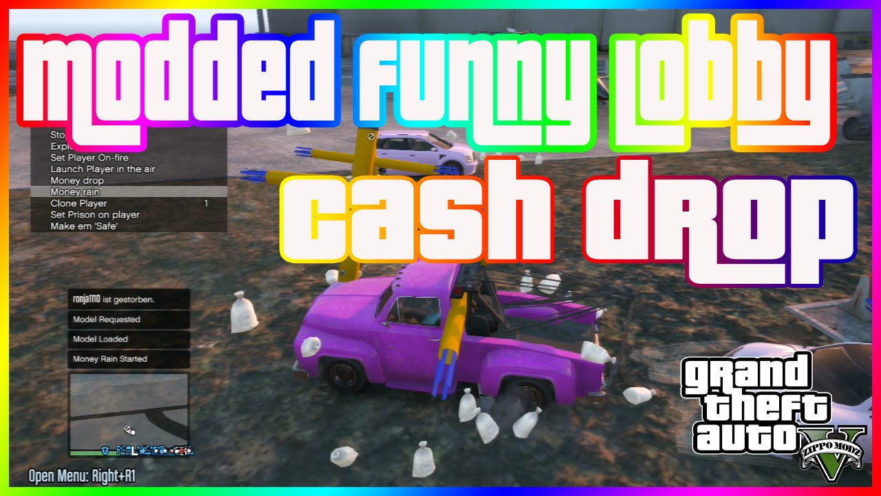 how to get money drop in gta 5 online