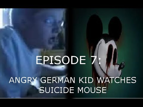 AGK Ep 7 Angry German Kid Watches Suicide Mouse