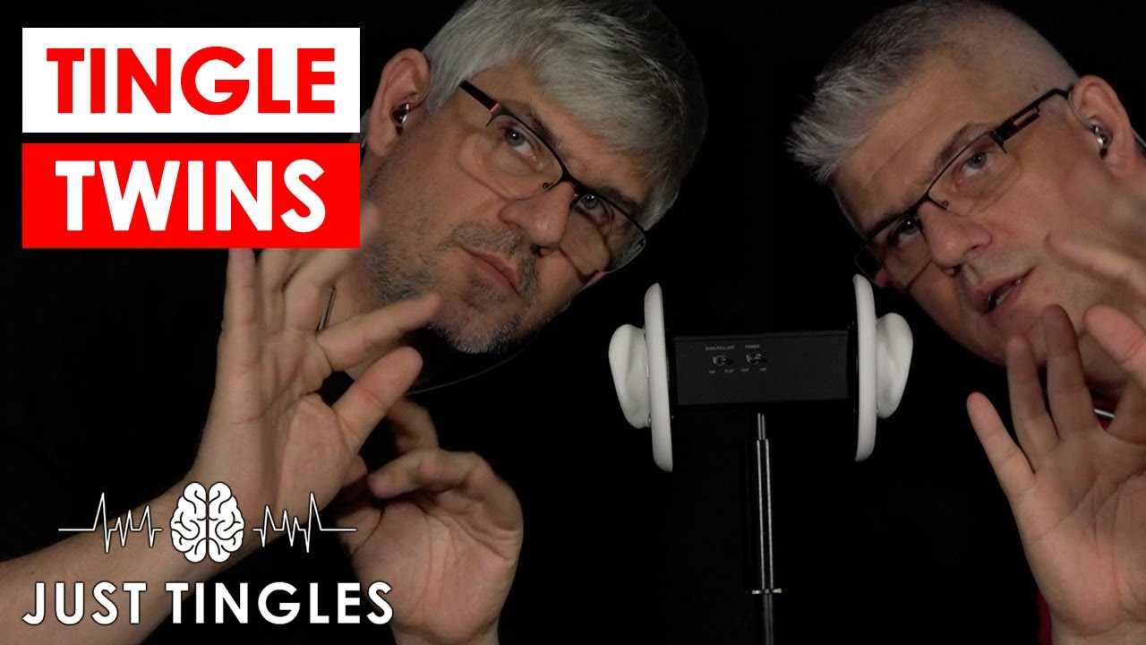 Asmr Twins Again Ear Blowing Hand Sounds Trigger Words Inaudible Whispers