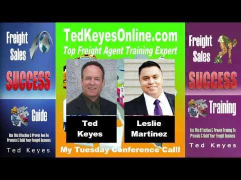 [TKO] ♦ Freight Sales Expert Guest - Leslie Martinez ♦ TedKeyesOnline.com