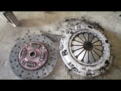 How to change clutch plate  isuzu pick up d-max 2016 model